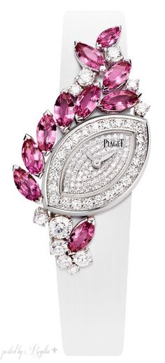 Fashion*Jewellery*Watches | Rosamaria G Frangini | Piaget Diamond and Ruby Watch