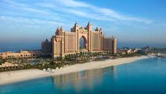 """Wirklich fantastisch - Im """"Atlantis, The Palm"""" tauchen Gäste in eine traumhaft-luxuriöse Welt ein. Hier werden Maßstäbe in puncto Freizeitvergnügen und Gastronomie gesetzt. http://www.ewtc.de/Dubai/Dubai-Strand/Hotel/Atlantis-The-Palm.html"""