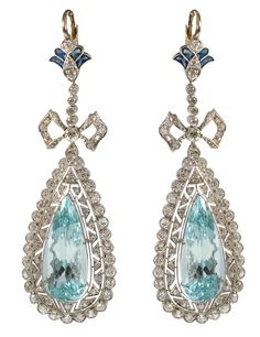 Bárcena 'Belle Epoque' earrings