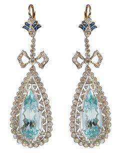 Bárcena 'Belle Epoque' earrings