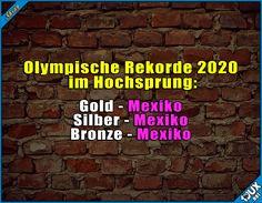 Die üben schon fleißig ^^' Lustige Sprüche / Lustige Bilder #nurSpaß #Olympia2020 #Olympia #OlympischeSpiele #Jodel #1jux #jux #OlympischeSpiele #Mexiko #Mauer #Trump #Humor #lustigeBilder #lustigeSprüche