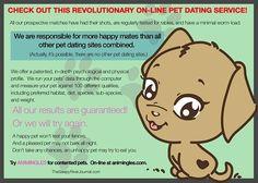 Online Pet Dating http://thesleepyriverjournal.com/online-pet-dating/