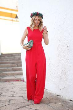 MI LOOK DE INVITADA II | BODA EN CÓRDOBA Semi Formal Outfits, Formal Wear, Casual Wear, Moda Barcelona, Wedding Guest Looks, Sophisticated Style, Wide Leg Jeans, Classy Outfits, What To Wear