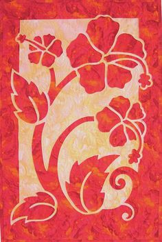 Nancy Lee Chong is passionate about needleturn appliqué, and she loves teaching the art to others almost as much as she enjoys it herself. Learn how she discovered it and how it changed her life. Spotlight: Nancy Lee Chong, Appliqué Artist and Instructor Hawaiian Quilt Patterns, Hawaiian Pattern, Applique Quilt Patterns, Hawaiian Quilts, Applique Fabric, Fabric Patterns, Reverse Applique, Hand Applique, Quilting Projects