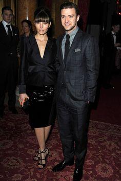 Jessica Biel in Tom Ford