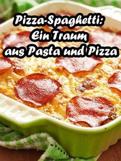 Wer Pizza und Spaghetti mag, wird Pizza-Spaghetti lieben!