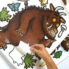 The Gruffalo Room Stickers