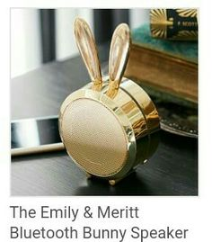 Bunny bluetooth speaker emily and merritt pbteen