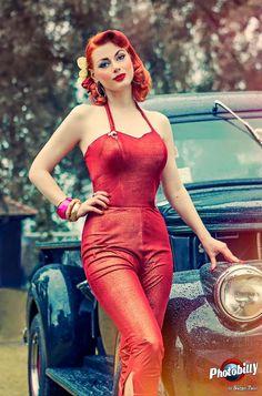 The Rebel Pin-up Page | Greta MaCabre Photo by Bostjan Tacol - Photobilly