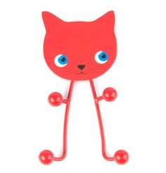 Kitty coat hook and other cute animals