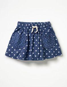 Spotty Jersey Skort Skorts at Boden Little Dresses, Little Girl Dresses, Girls Dresses, Baby Dresses, Dress Girl, Baby Outfits, Kids Outfits, Baby Girl Fashion, Kids Fashion