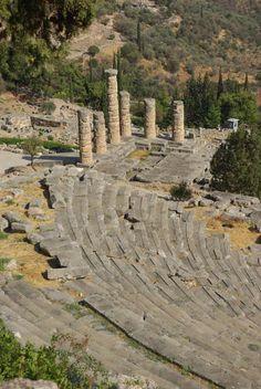 Delphi, Greece - UNESCO World Heritage Site