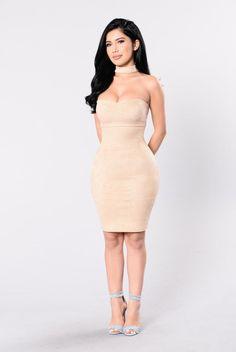 Case Of The Ex Dress - Cream