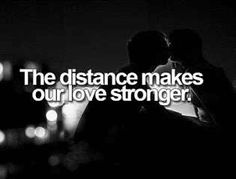 The distance makes our love stronger. No Doubts! Long Distance Relationship Quotes, Relationship Advice, Distance Relationships, Long Distance Love, To Infinity And Beyond, Ldr, Love You, My Love, Married Life