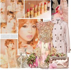 """Hamasaki Ayumi"" by cafe-le-psyence ❤ liked on Polyvore"