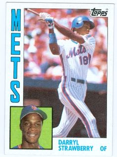 Darryl Strawberry Rookie Card (1984 Topps)