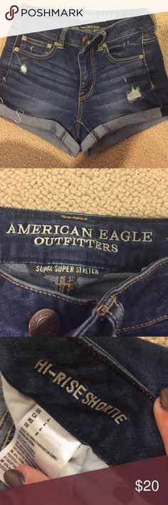 AE Jean Shorts So cute and comfy American Eagle Outfitters Shorts Jean Shorts