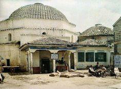 1913, Θεσσαλονίκη, Bey Hamami Albert Kahn, Thessaloniki, Athens Greece, Macedonia, Ancient Egypt, Old Photos, Taj Mahal, Island, City