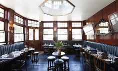 old wood restaurant interior - Google Search