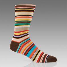 Paul Smith Socks | Classic Multi Stripe Socks