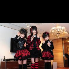 I love Yui from Babymetal!!!!  (She is the shortest one)
