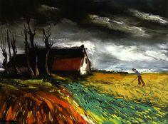 Field Of Wheat - Maurice de Vlaminck