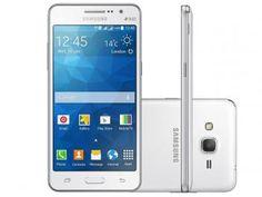 Smartphone Samsung Galaxy Gran Prime Duos 8GB - Branco Dual Chip 3G Câm. 8MP Desbl. TIM