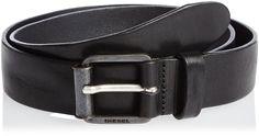 Diesel Men's B-Wring Belt, Black, 85