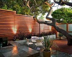 front yard fence ideas | Fences | Modern Asian Yard | Asian Home | Contemporary Yard ...
