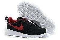 Cheap Nike Roshe Run Women USA Sale,Nike running Shoes outlet! Nike Roshe Run Womens Black Red Mesh shoes [ - Nike Shoes For Sale, Nike Free Shoes, Running Shoes Nike, Zapatillas Nike Roshe, Nike Roshe Run Black, Nike Shoes Outfits, Work Outfits, Fall Outfits, Cheer Outfits