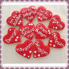 Love cookie :) Bilgi ve sipariş için whtsapp numaramız 0544 323 50 72 www.kurabiyenoktasi.com