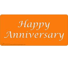 Stencil - Happy Anniversary - Happy Anniversay - ideal for stenciling the top of a cake, letters are (approx high. Happy Anniversay, Stenciling, Cake Decorating, Anniversary, Valentines, Letters, Top, Valentines Diy, Spinning Top