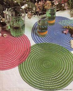 Materiales gráficos Gaby: Servilletas crochet