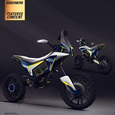 Husqvarna Concept Rally bike – Aniket Das