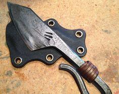 Items similar to Gary Oak Leaf Coat Hook. Hand Forged by Blacksmith. on Etsy
