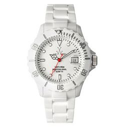 I want this watch - because it's white! :)