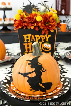set the scene this halloween with spooky cute party decor