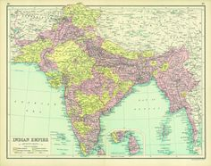 Indian Empire 1914