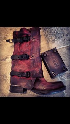 A.S. 98 boots. LOVE!!