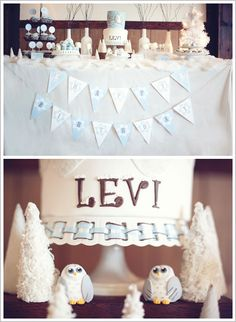 Snow Owl...perfect for little L's first birthday, I think :) @Candace Starrett McNaughton