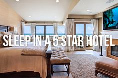 Sleep in a five star hotel / Bucket List Ideas / Before I Die