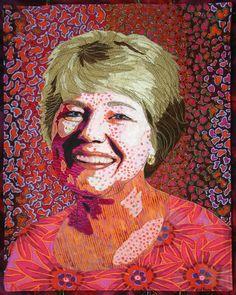 Bonnie Keller - Portrait Quilts - Self Portrait