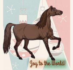 Holiday Horse | by China Rose