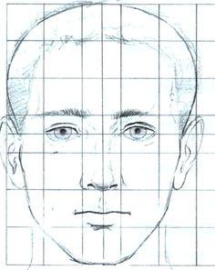 Пропорции головы - отправлено в Изобразительная грамотность: Пропорции головы Тем, кто учится рисовать, особенно важно использовать сетку для изображения головы, чтобы пропорции были соблюдены верно. Пропорции, показанные здесь, являются стандартными для всех взрослых людей, живущих в любой части планеты, поэтому могут быть использованы для любого, кто станет вашей моделью. Голова должна быть изображена ровно и прямо, либо в полный фас, либо в полный профиль. Если голова будет повернута в...