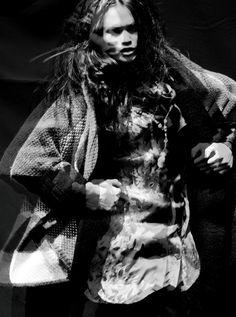 Warrior Woman   Sharina Gutierrez   Andreas Ortner #photography   Elle Germany December 2012