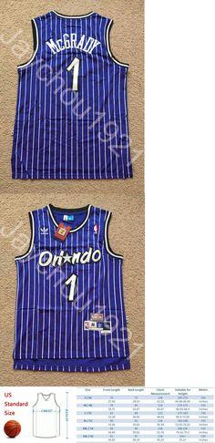 9375dd97e4e ... Basketball-NBA 24442 Rare Tracy Mcgrady Orlando Magic Throwback  Swingman Sewn On Jersey Size ...