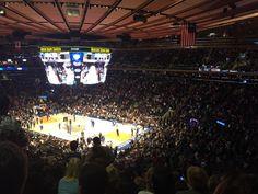 Voir un match de NBA au Madison square garden est possible pendant votre séjour. Les New York Knick