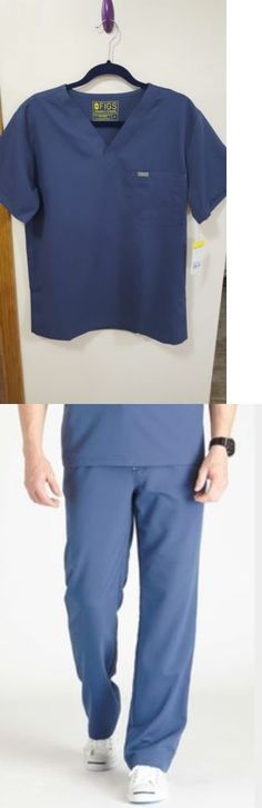 dd6abc21bc8 Sets 105432: New Small Figs Scrubs Uniform Set In Midnight Blue For Medical  And Dental Nursing -> BUY IT NOW ONLY: $52.99 on eBay!