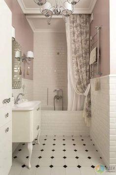 16 Ideas Bath Room Tiles Vintage Inspiration For 2019 – Diy Bathroom Remodel İdeas Bathroom Design Layout, Bathroom Interior Design, Home Interior, Bath Design, Bathtub Tile, Living Room Furniture Layout, Bathroom Furniture, Room Tiles, Kitchen Tiles