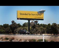 La RAC è una compagnia di assicurazioni australiana specializzata nell'assistenza auto.  Un UFO è lontano da casa e ha un incidente. La RAC interviene sempre.